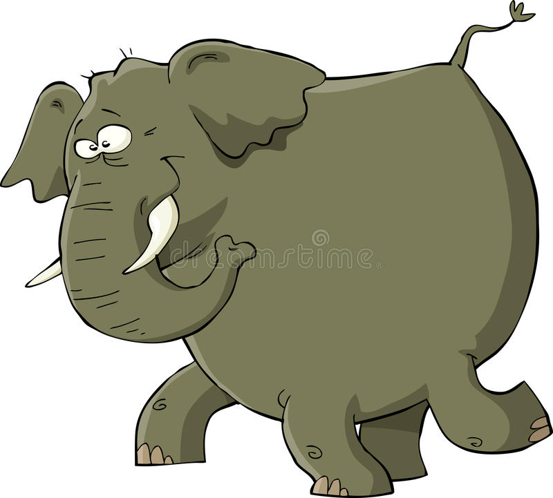Download Elephant stock vector. Image of elephant, illustration - 24636173