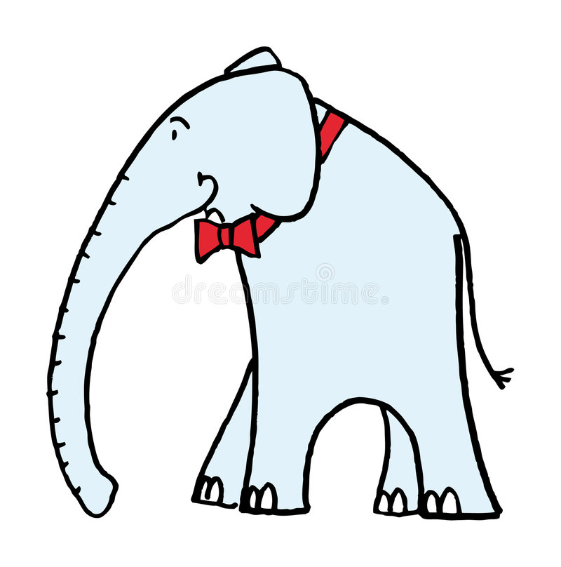 Download Elephant stock vector. Image of illustrated, elephant - 5919232