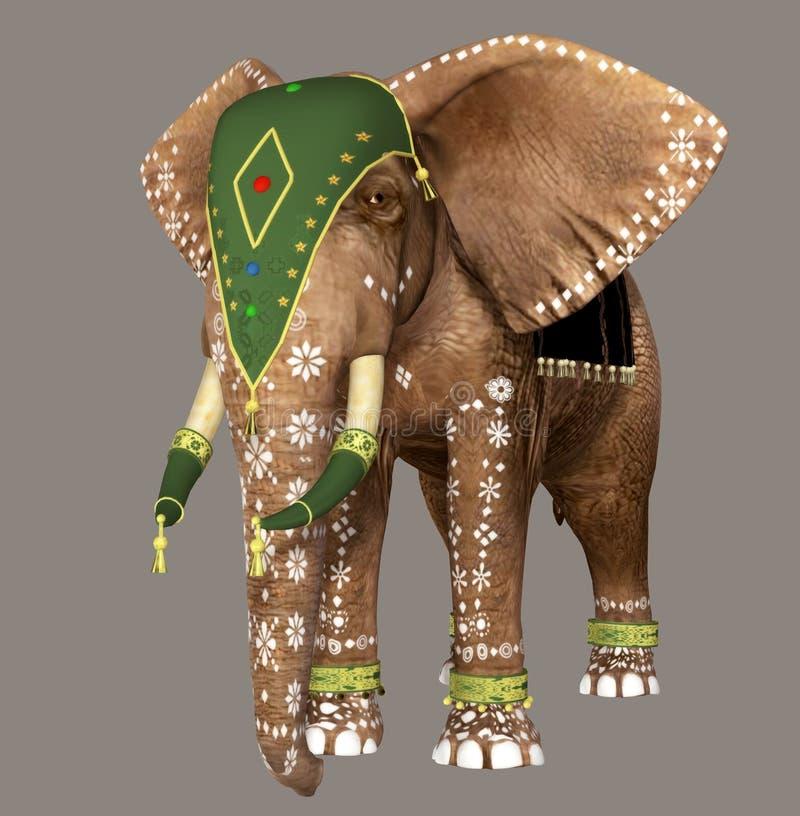 Download Elephant stock illustration. Image of brown, pose, elephants - 6580751