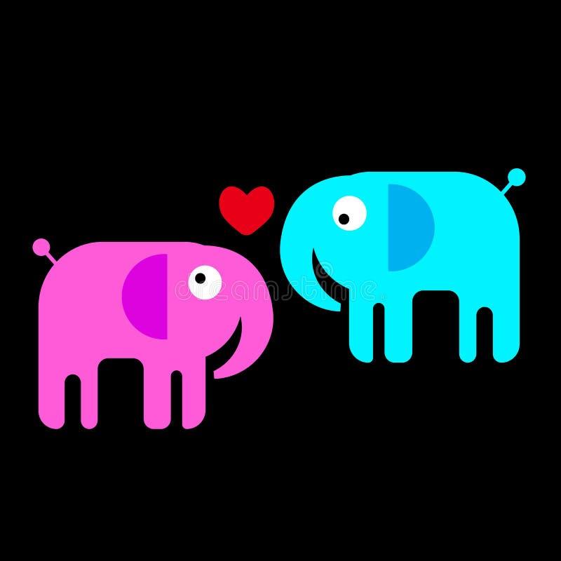 Elephant animal illustration mammal wild cute wildlife de vector illustration