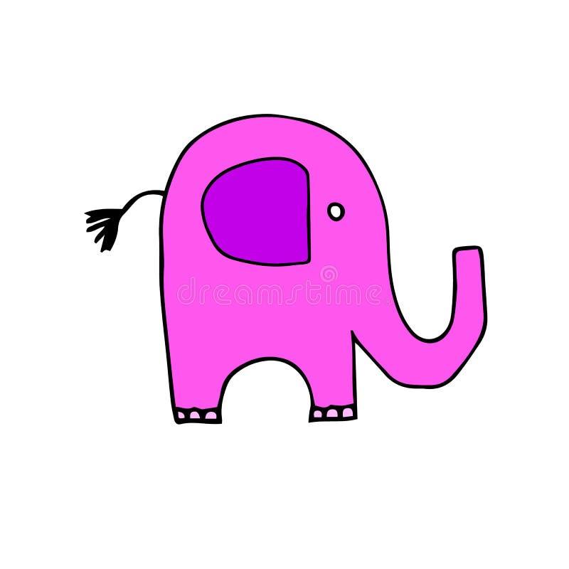Elephant animal illustration mammal wild cute wildlife de stock illustration