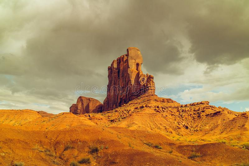 Elephant Butte, Monument Valley, Utah royalty free stock photos