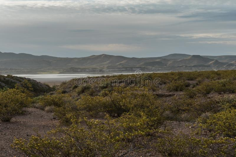 Elephant Butte State Park in New Mexico. stock photography