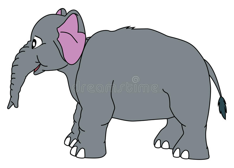 elephant royalty free illustration