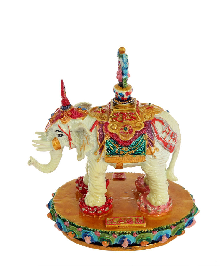Elephant crafts royalty free stock images