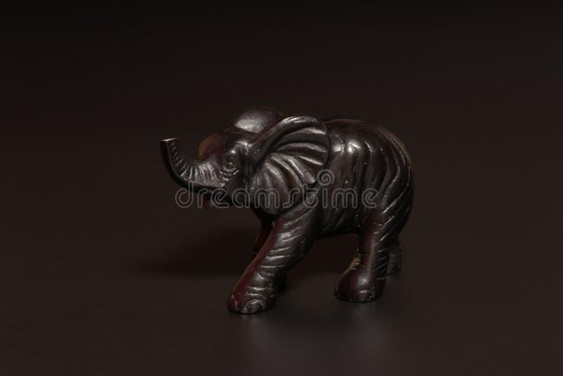 Elephant figurine royalty free stock photo