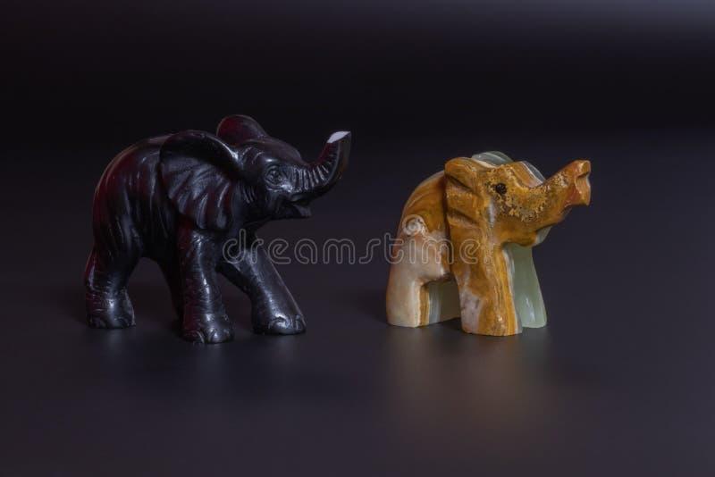 elephant figurine royalty free stock image