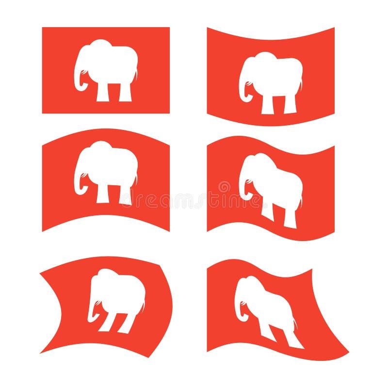 Elephant Flag Republican National Flag Of Presidential Election