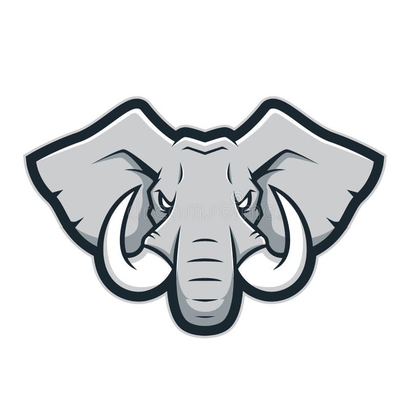 elephant head mascot logo stock vector illustration of african rh dreamstime com elephant head logo quiz elephant head logo quiz answer