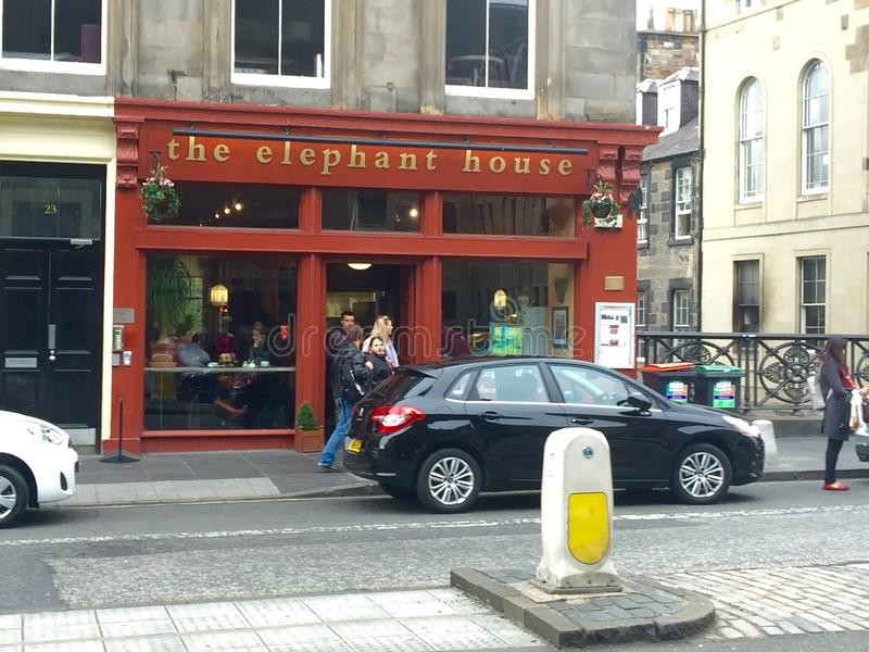 The Elephant House stock image