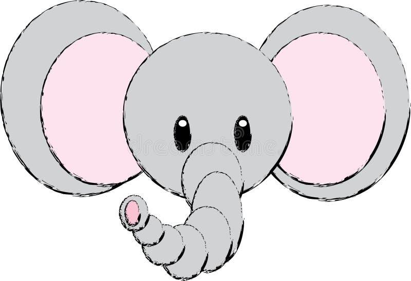 Elephant Illustration Royalty Free Stock Photo