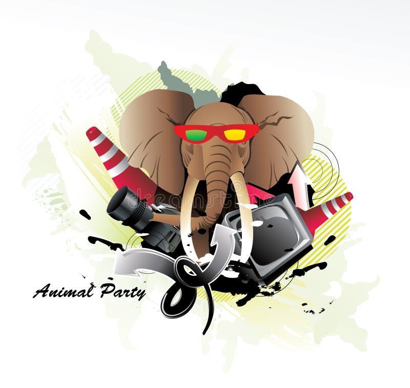 Download Elephant illustration stock vector. Illustration of fashion - 17932516