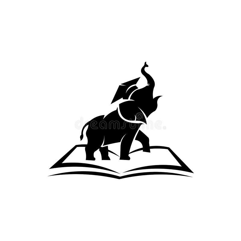 - inspiration textbooks ,schoolbook elephant Vector. Elephant Logo Design Vector Template - inspiration textbooks ,schoolbook elephant Vector vector illustration
