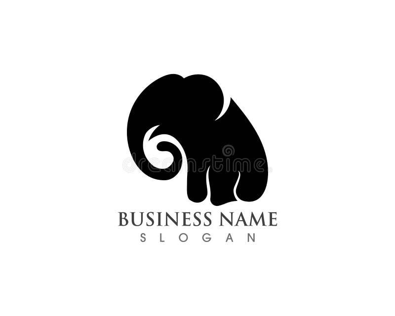 Elephant Logo Template Vector Illustration design royalty free illustration