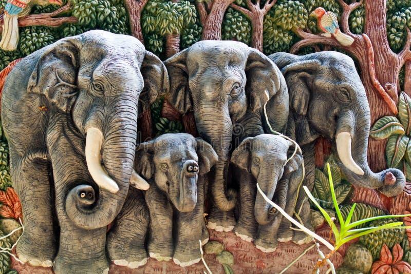 Elephant mold stock image