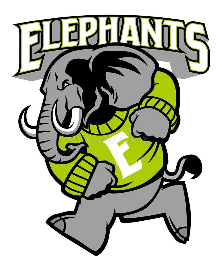 Free Elephant School Mascot Stock Photos - 45673543