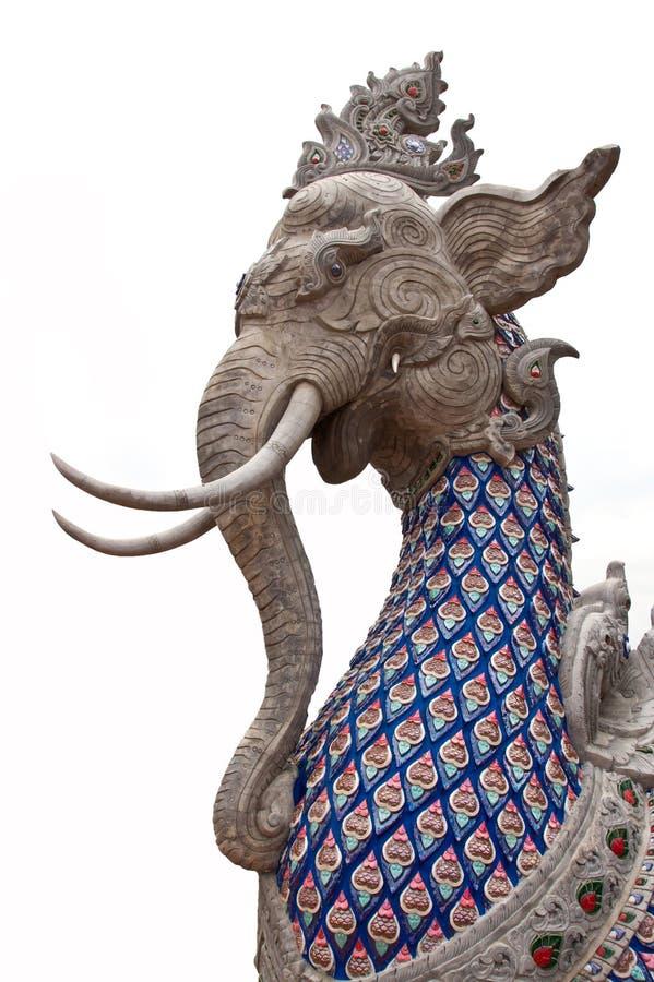 Elephant statue royalty free stock photo