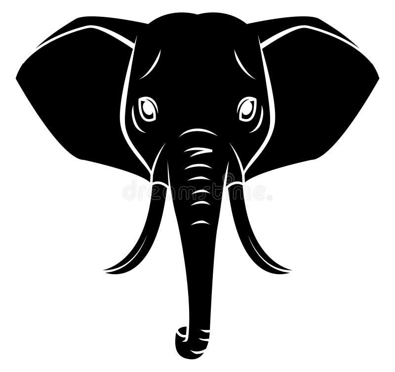 elephant symbol stock vector illustration of white background 47879579. Black Bedroom Furniture Sets. Home Design Ideas