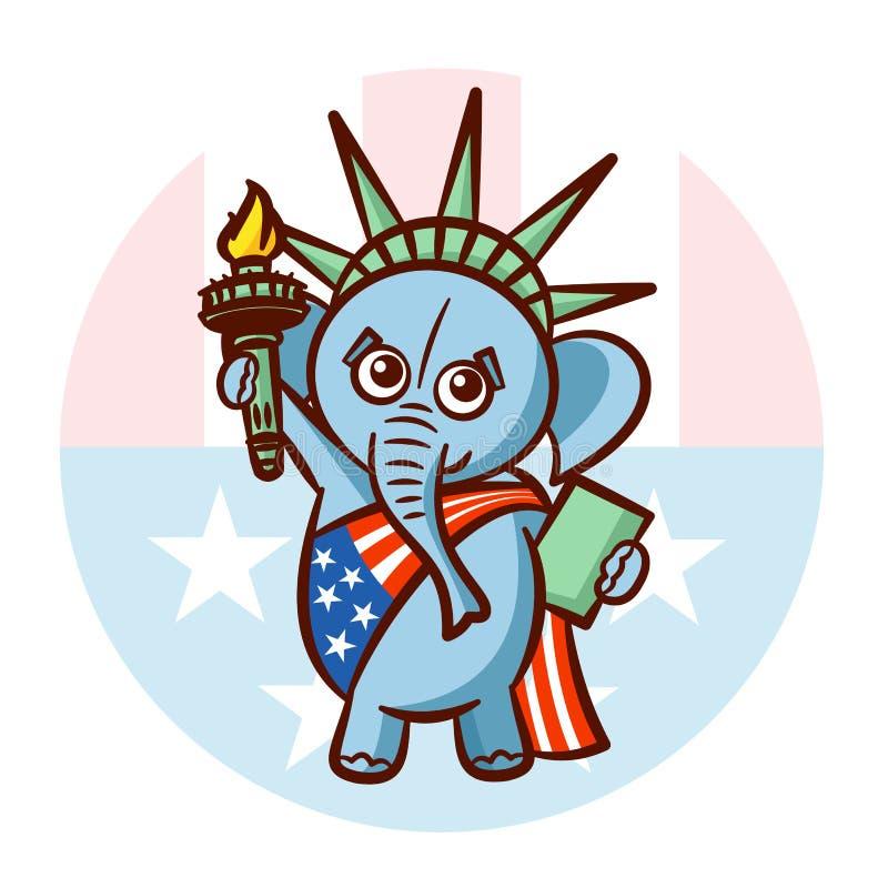 Elephant Symbols Of Republicans Political Parties Usa Statue