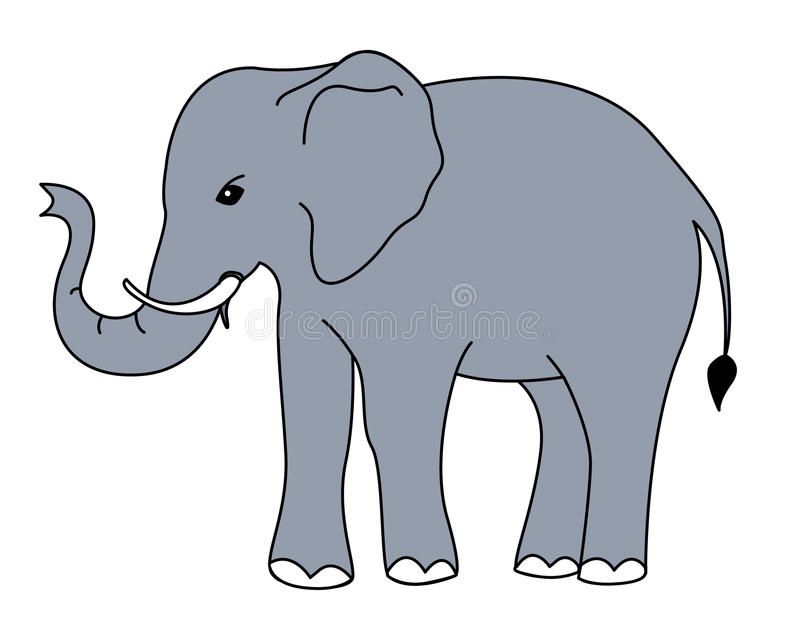 elephant vector stock vector illustration of active 14583524 rh dreamstime com elephant vector file elephant vector free download