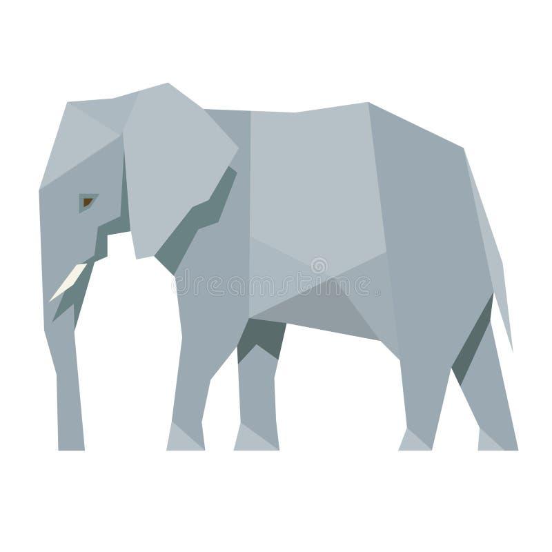Elephant stock illustration