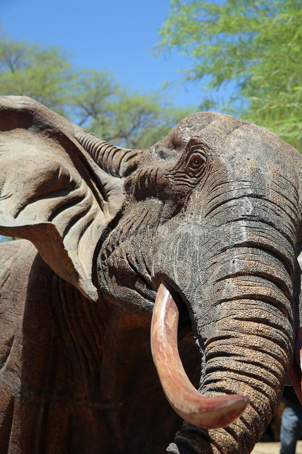 Download Elephant editorial stock image. Image of bark, curio - 35953914