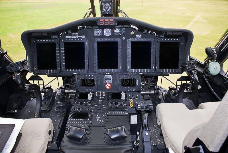 Eletrônica de Sikorsky S-92 foto de stock royalty free
