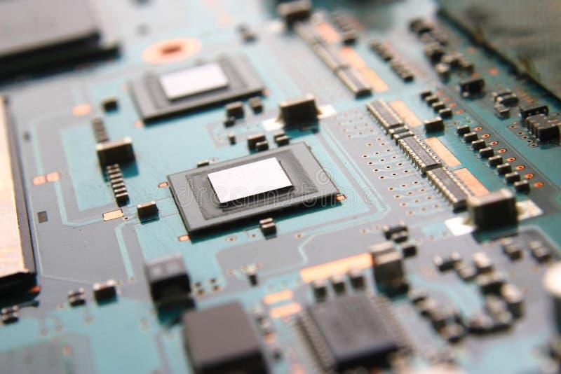 Eletrônica do computador imagem de stock royalty free