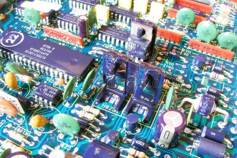 Eletrônico imagens de stock