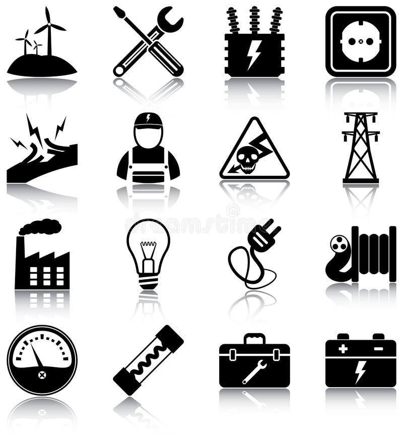 Eletricidade ilustração stock