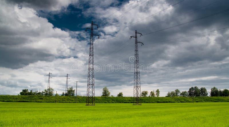 Eletricidade imagens de stock