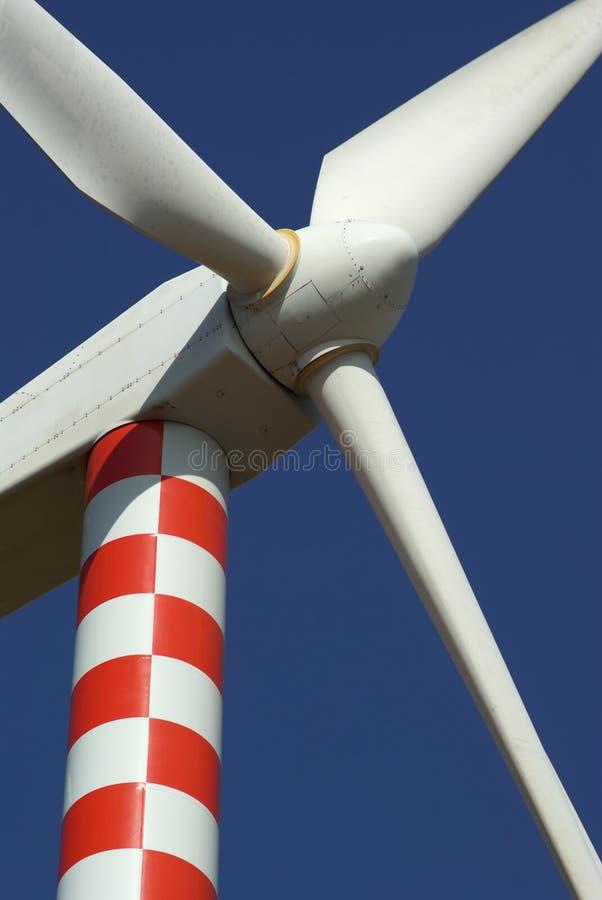 Eletricidade do gerador ao vento fotos de stock royalty free