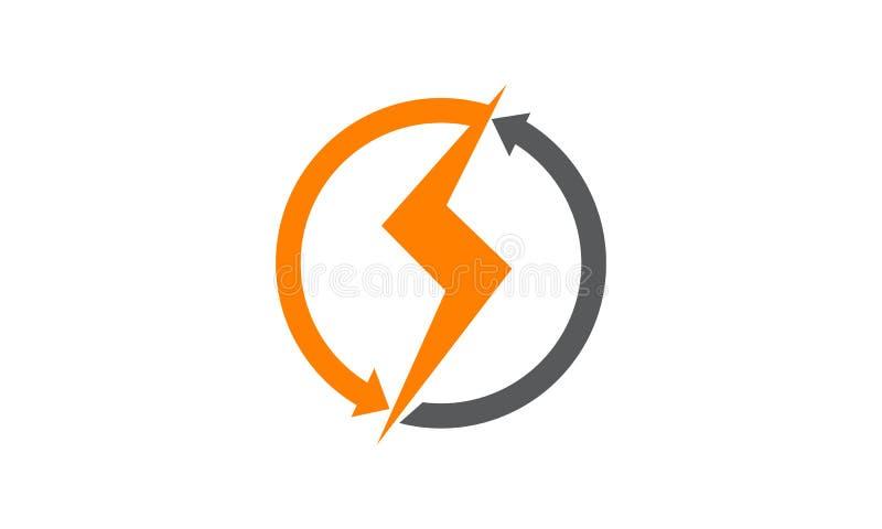 elettricità illustrazione di stock