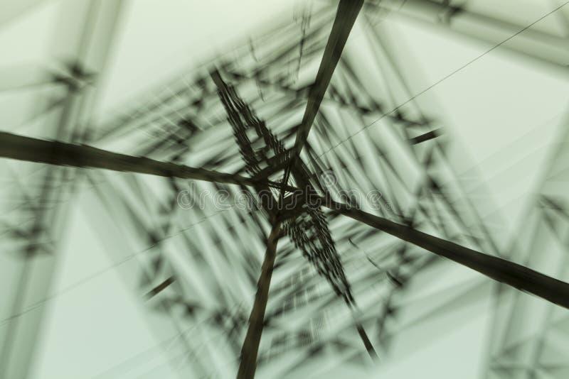 Elettricità Palo immagine stock libera da diritti