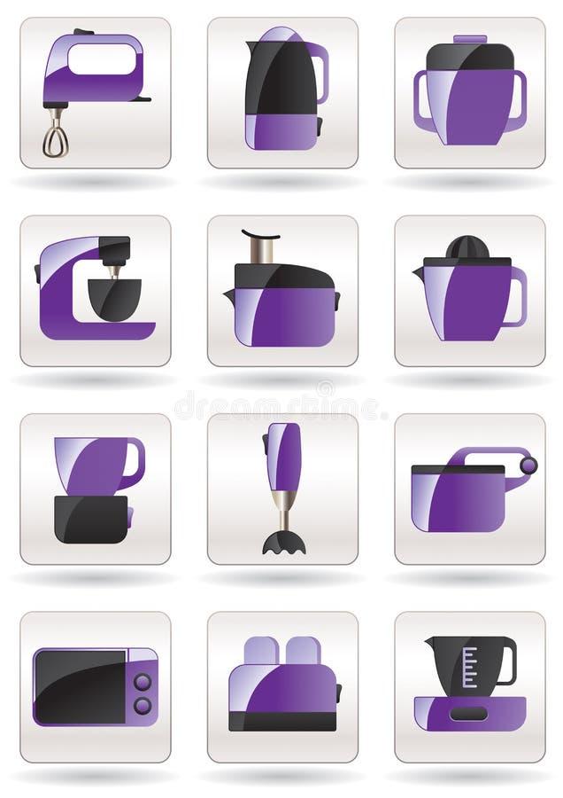 Elettrodomestici Per La Cucina Illustrazione Vettoriale - Immagine ...