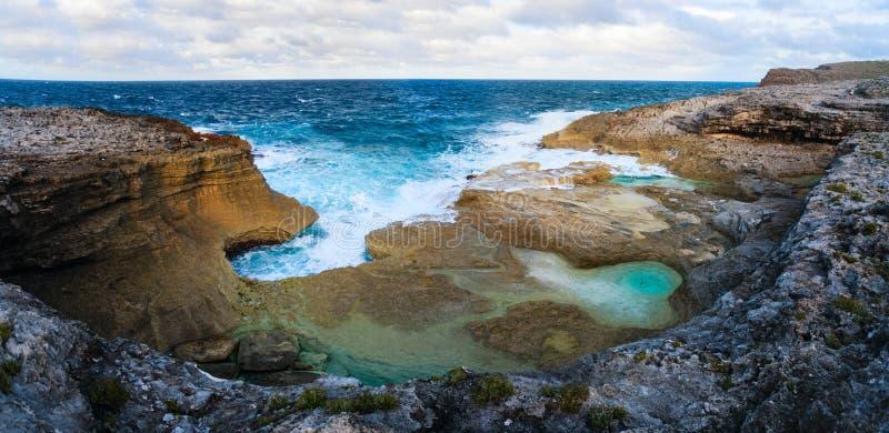 Eleuthera τοπίο νησιών στοκ εικόνα με δικαίωμα ελεύθερης χρήσης