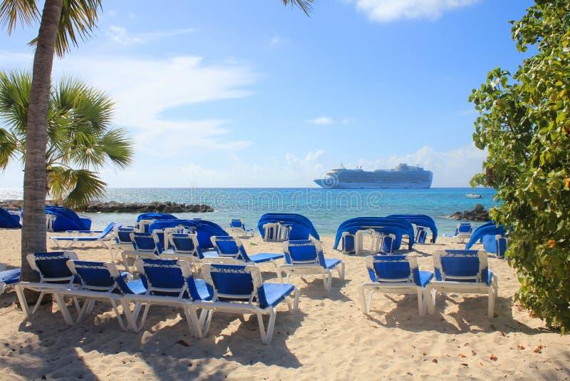 Eleuthera Bahamas royaltyfria bilder