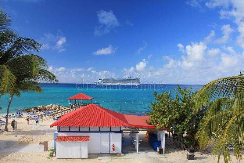 Eleuthera de Bahamas stock afbeelding