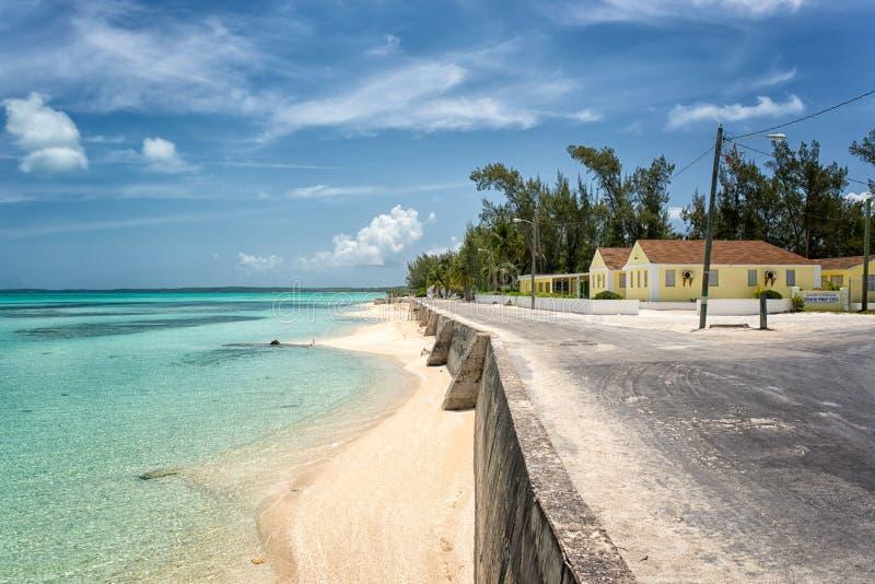 Eleuthera Eiland, de Bahamas stock afbeelding