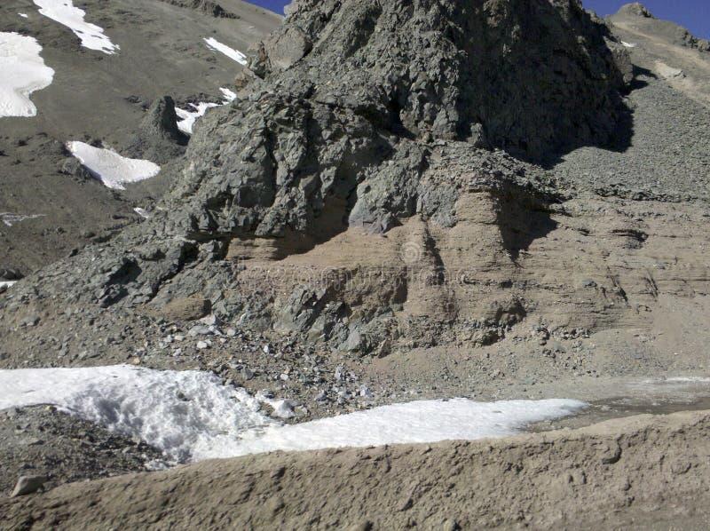 Elevação nos Andes Cordilheira fotografia de stock royalty free