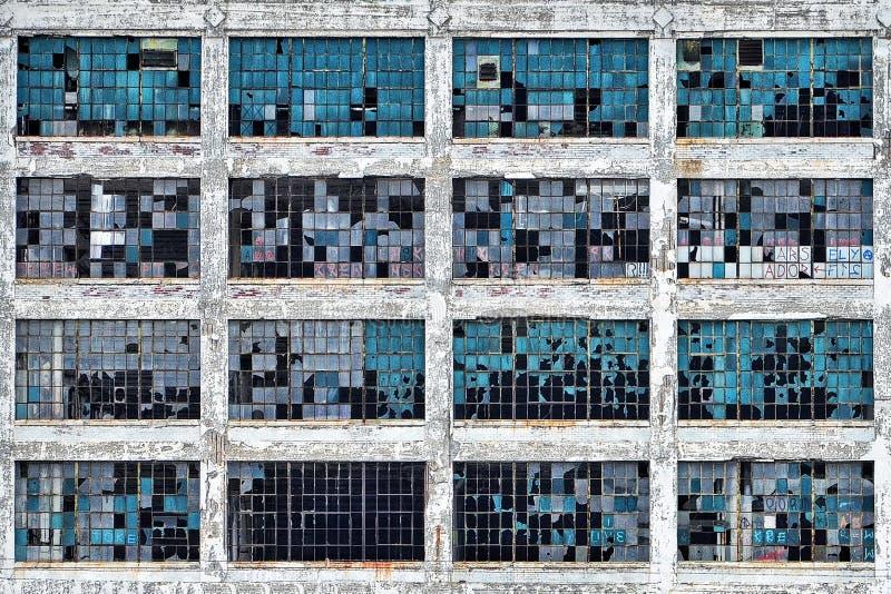 Elevação ocidental, Fisher Plant 21 imagem de stock