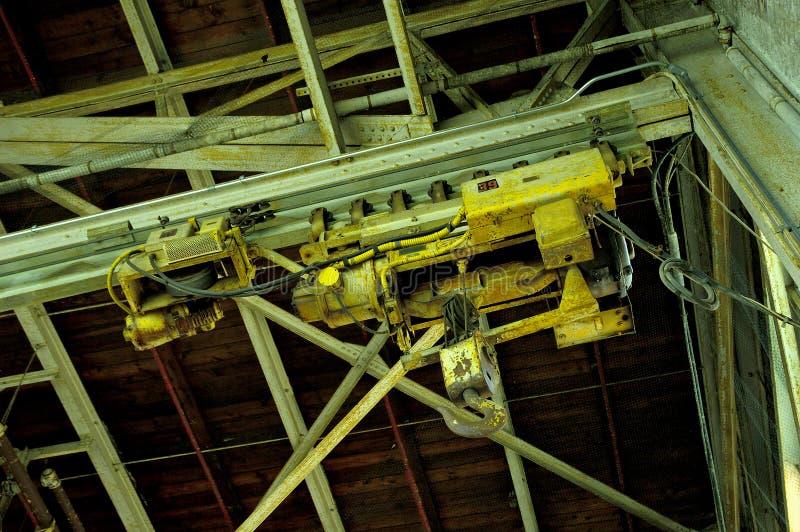 Elevación industrial fotos de archivo