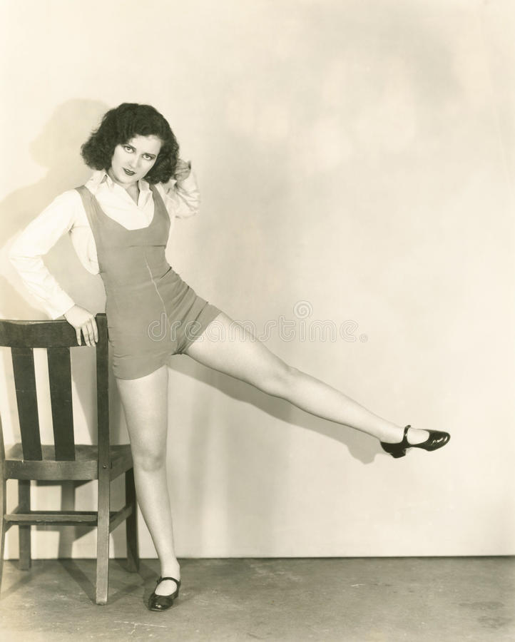 Elevaciones de la pierna fotos de archivo