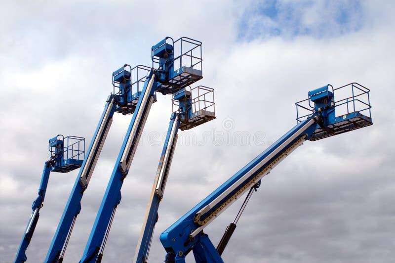 Elevador aéreo colorido foto de stock royalty free