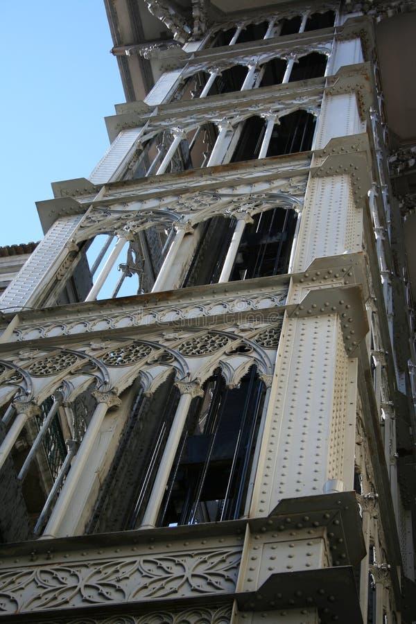Elevador de Lisboa imagen de archivo libre de regalías