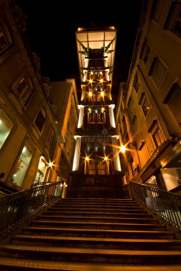 Download Elevador de Santa Justa stock image. Image of elevator - 24575641