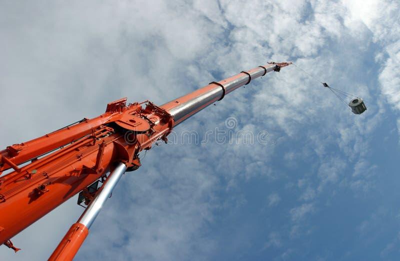Download Elevador do guindaste imagem de stock. Imagem de jaque - 105959