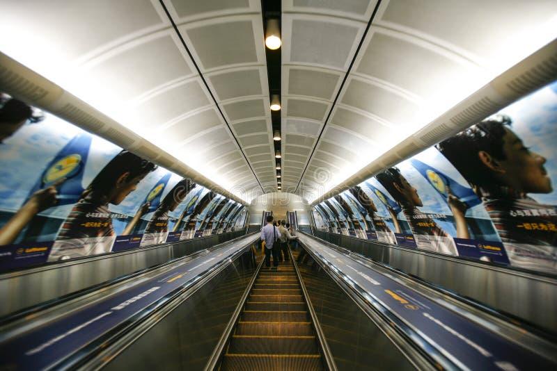 Elevador do metro imagens de stock royalty free