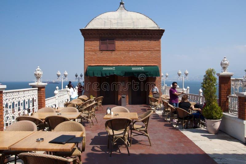 Elevador em Izmir fotografia de stock royalty free