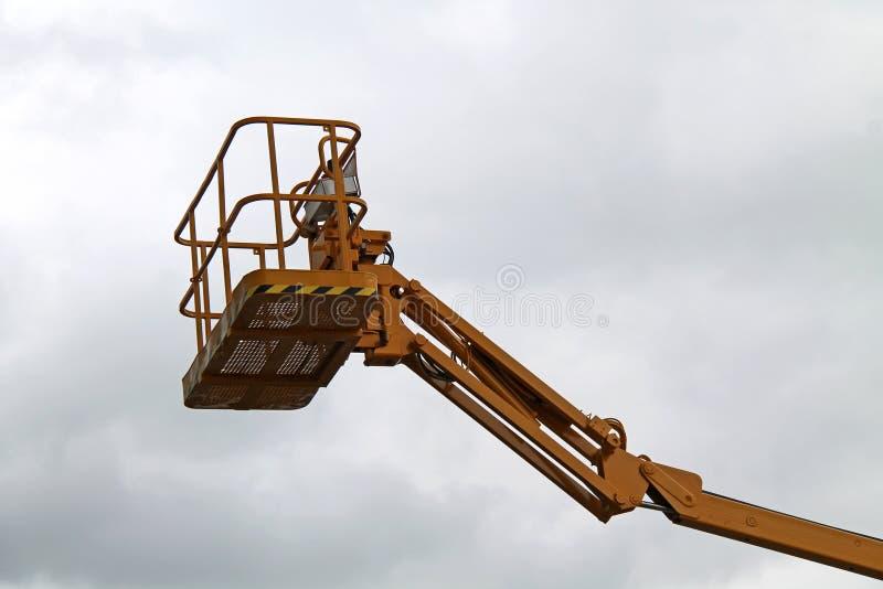 Elevador hidráulico fotografia de stock